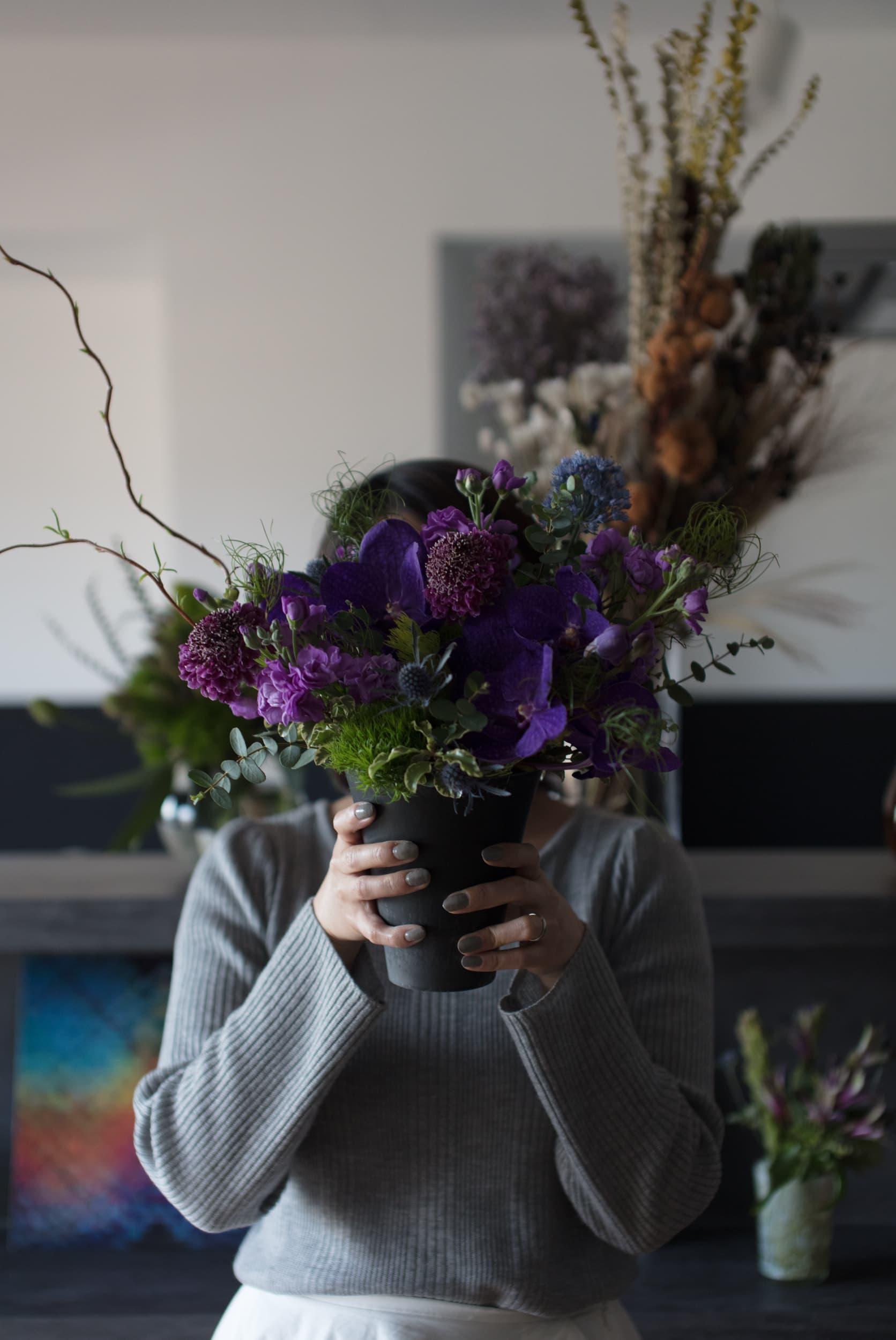 ロイヤルシャトー泉本町 / 色とりどりの花