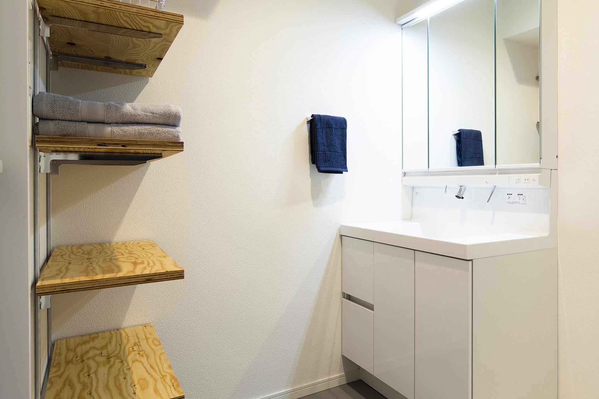 長寿園マンション / 洗面室
