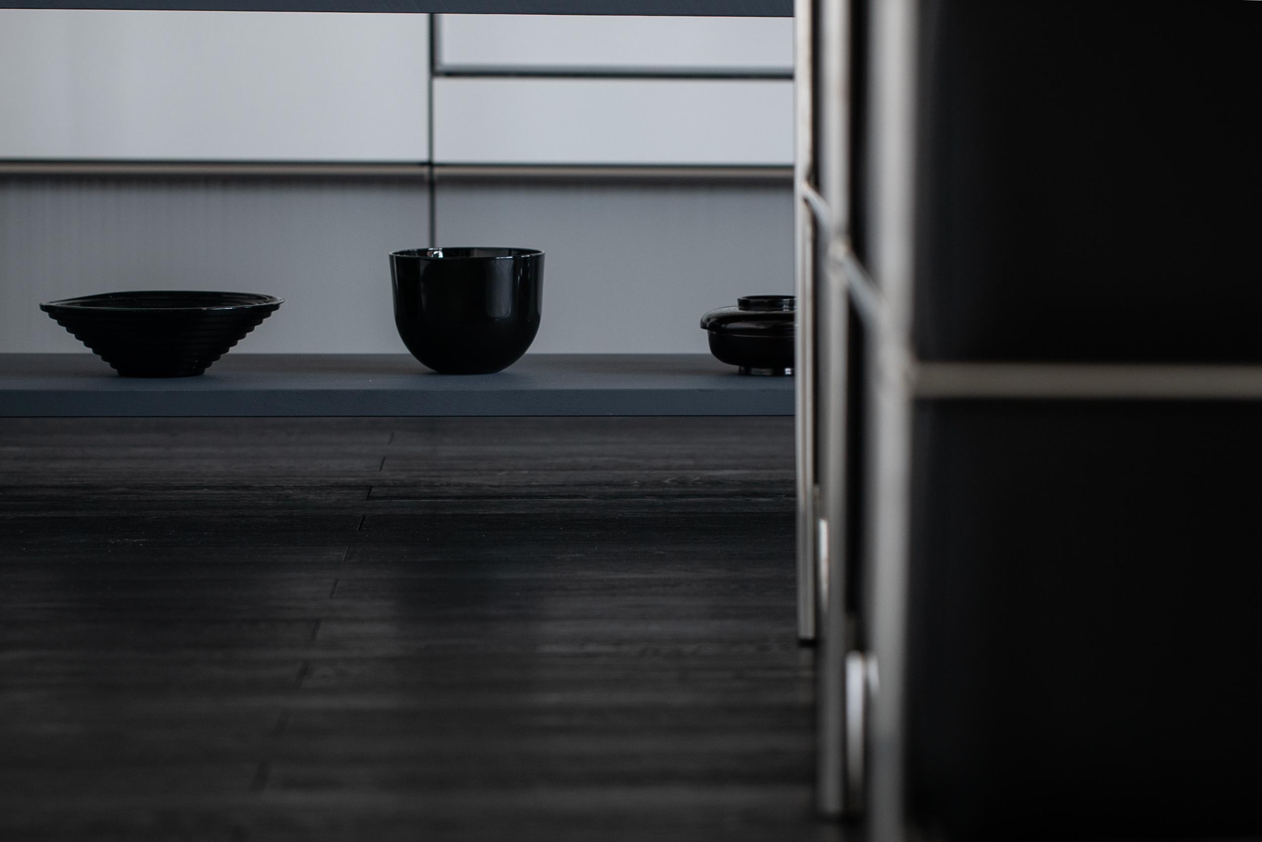 レジデンス此花 モデルルーム / キッチン棚の小物