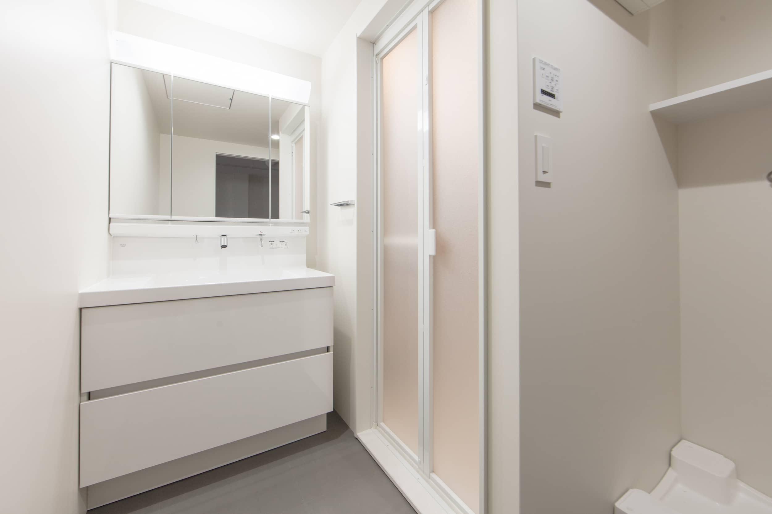 ロイヤルシャトー泉本町モデルルーム / 洗面室