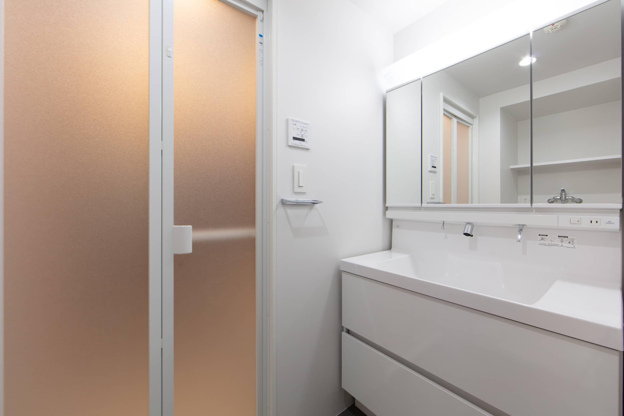ロイヤルシャトー金沢泉丘102モデルルーム / 洗面室
