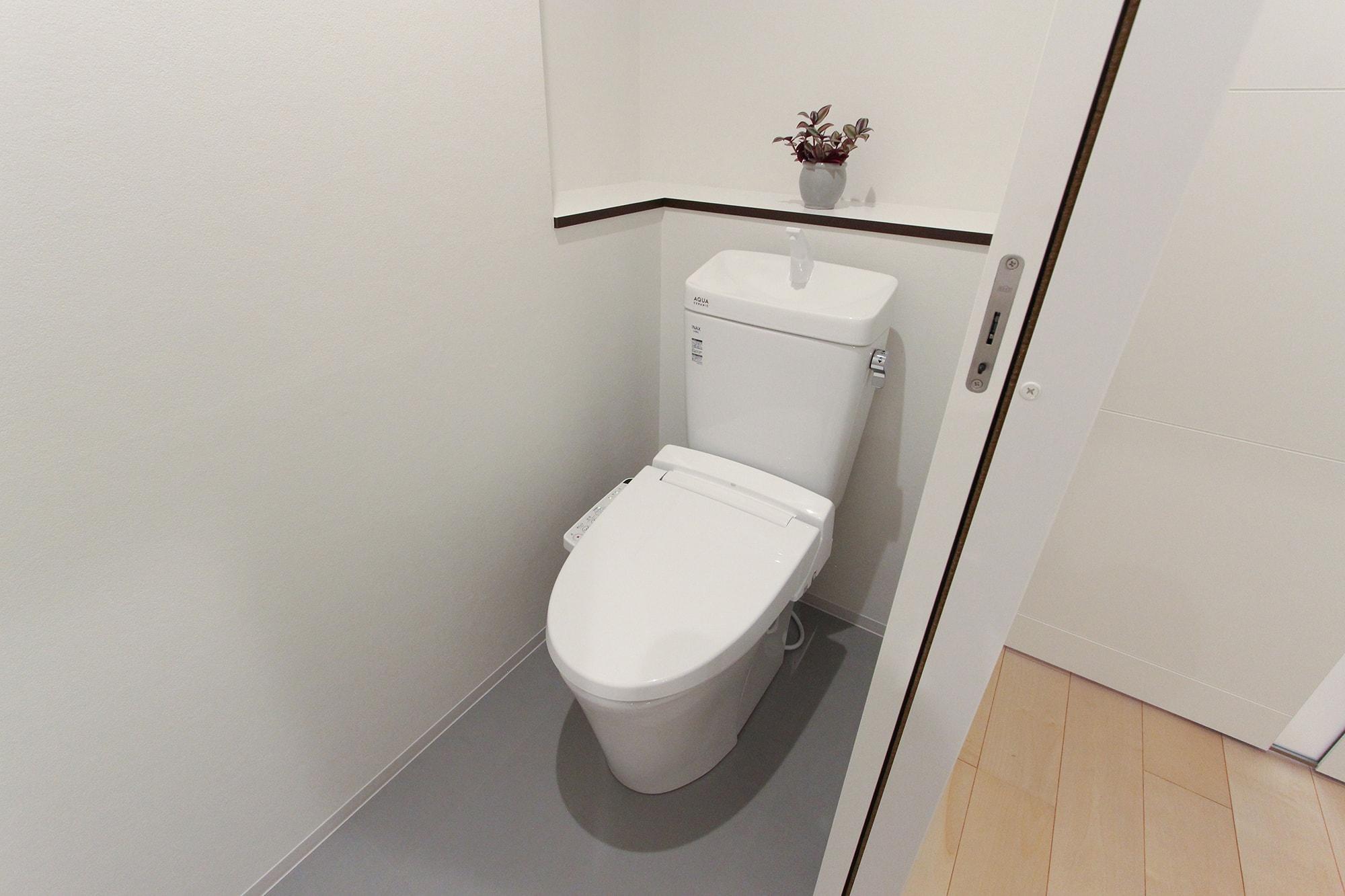 アバンテ岡山壱番館 / トイレ