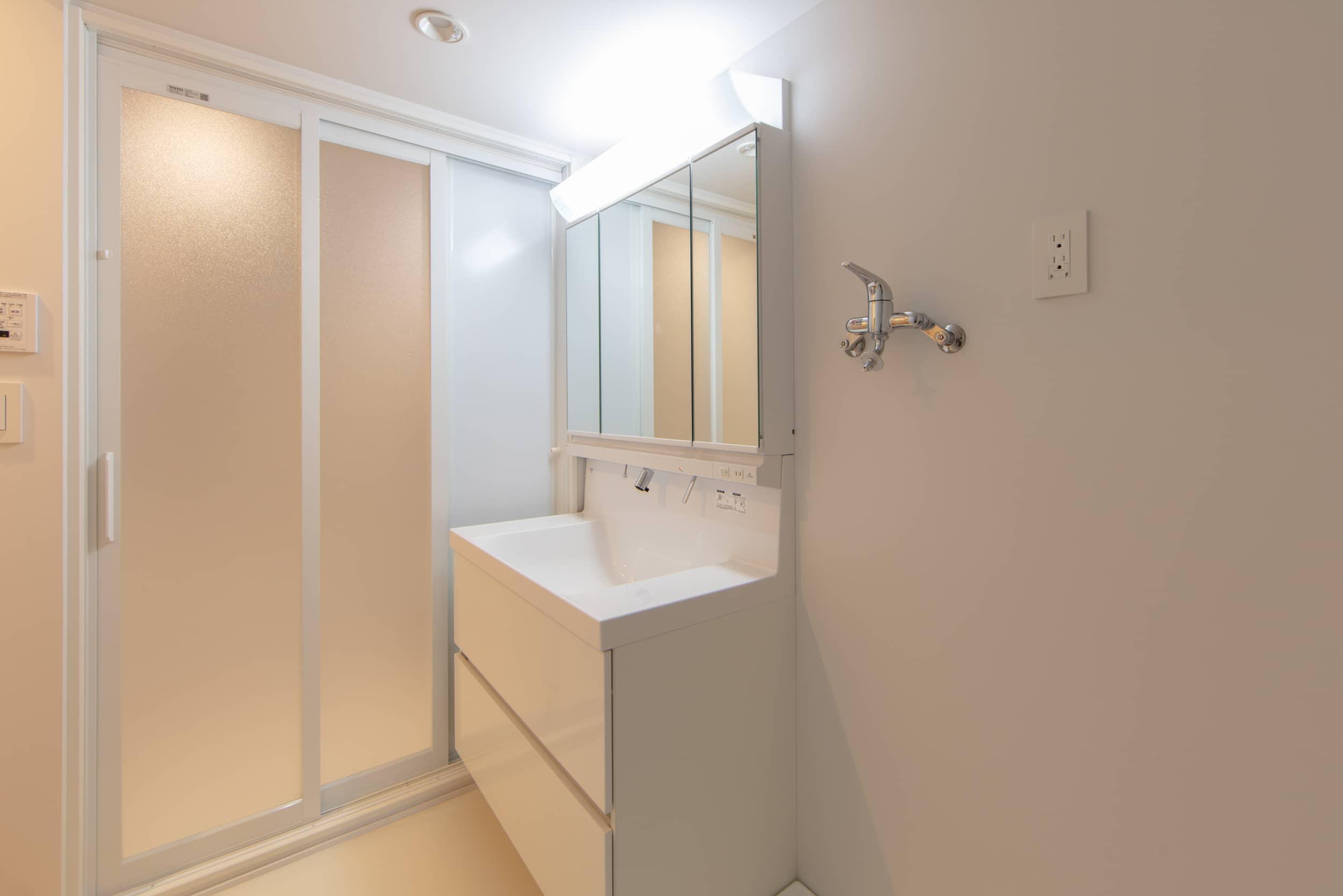 パークサイト玉川 / 洗面室